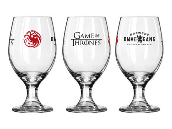 Game of Thrones - Fire and Blood glass